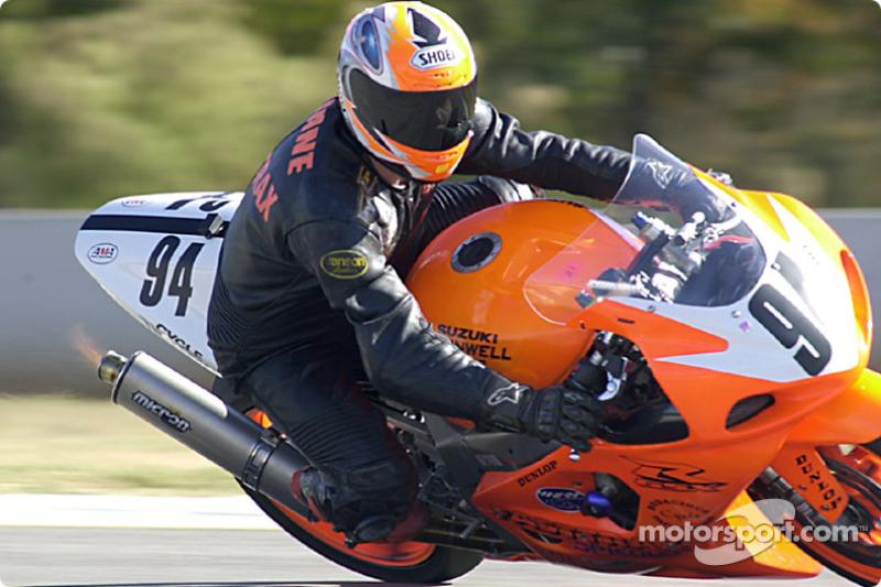 Tim Brewer Suzuki 600
