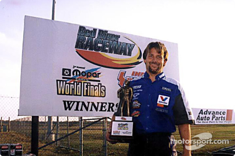 2001 IHRA Top Fuel Harley Champion Doug Vancil