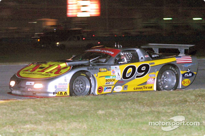 The #09 Corvette of Doug Goad and Craig Conway won the AGT class