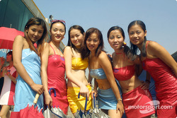 The lovely Zhuhai Miss