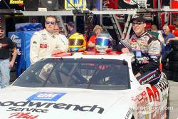 Kurt Busch and Kevin Harvick