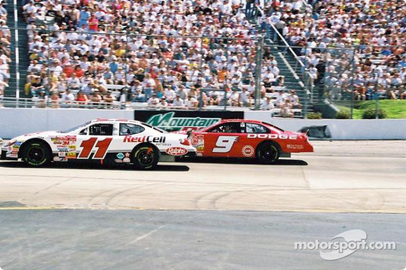 Brett Bodine and Bill Elliott