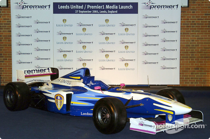 Leeds United Premier1 car