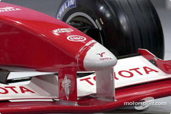 Front nose of the Toyota TF102