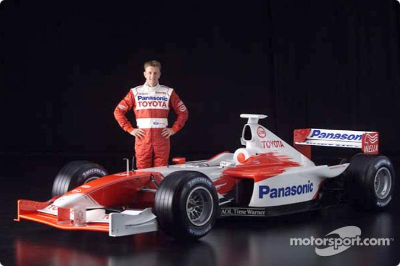 Аллан Макніш і Toyota TF102