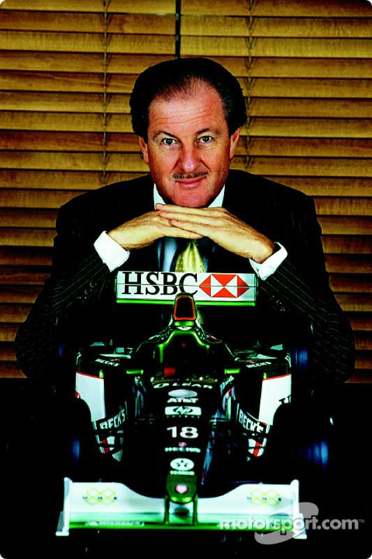 Wolfgang Reitzle, Président de Jaguar Cars