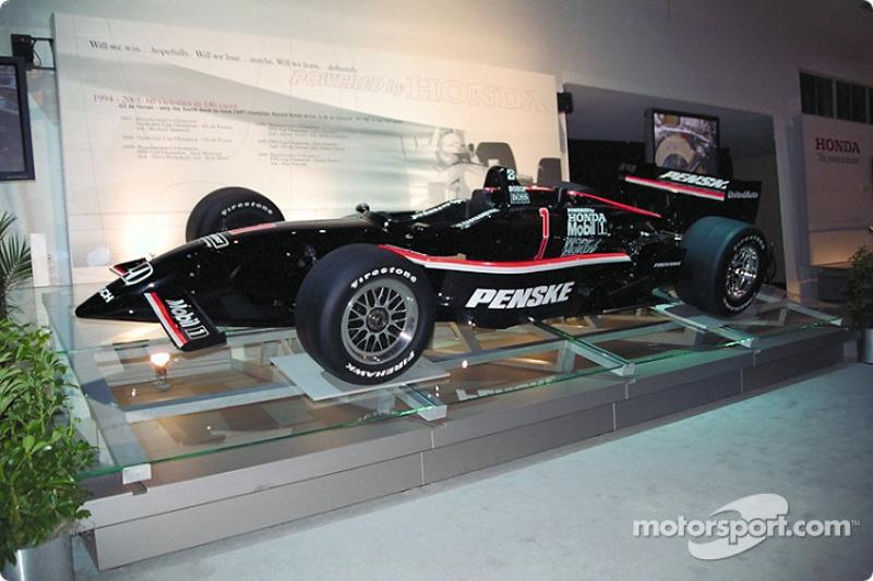 Honda powered 2000 CART championship winners