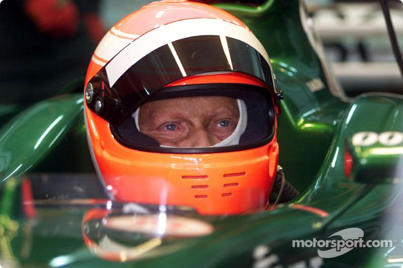 Niki Lauda au volant