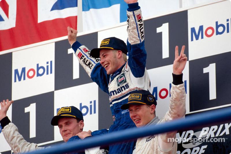 1997: Villeneuve in zijn tweede jaar