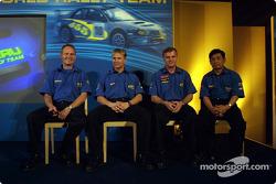 Equipo Subaru: Petter Solberg y Tommi Makinen