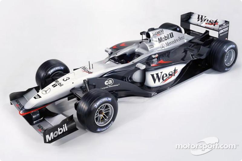 Nouvelle McLaren Mercedes MP4-17