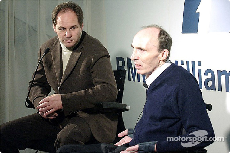 Gerhard Berger et Frank Williams