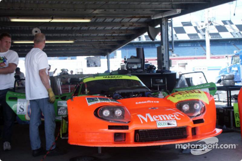Marcos Racing International garage