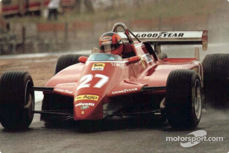 1982: Гран При ЮАР, Ferrari 126C2