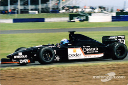 David Saelens, European Minardi prior to his practise accident