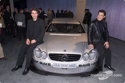 Bernd Schneider and Jean Alesi
