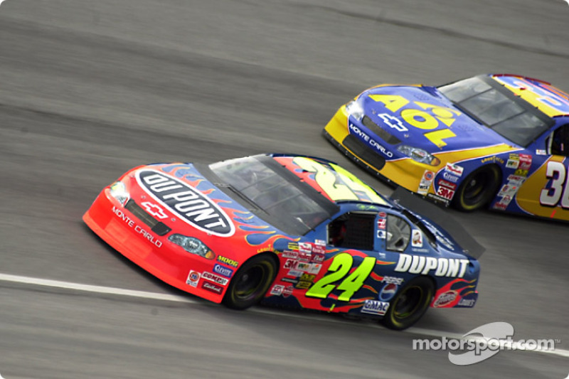 Jeff Gordon and Jeff Green