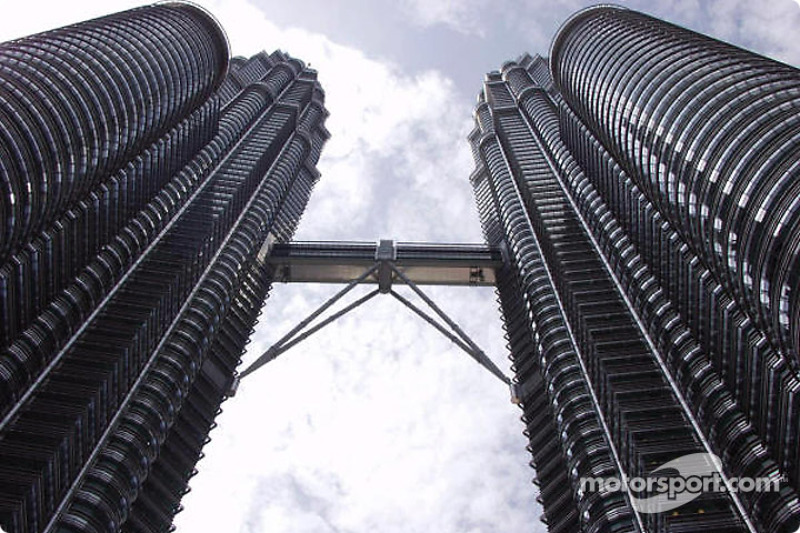 Kuala Lumpur : les tours jumelles Petronas
