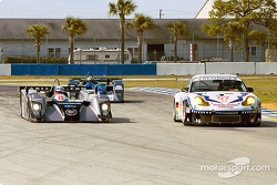 Cadillac Northstar LMP 02 and Porsche GT3 R