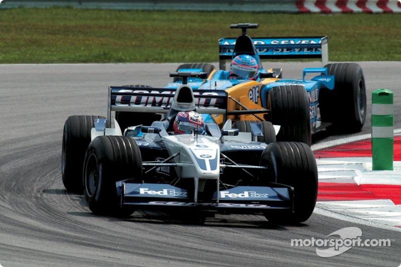Juan Pablo Montoya and Jenson Button