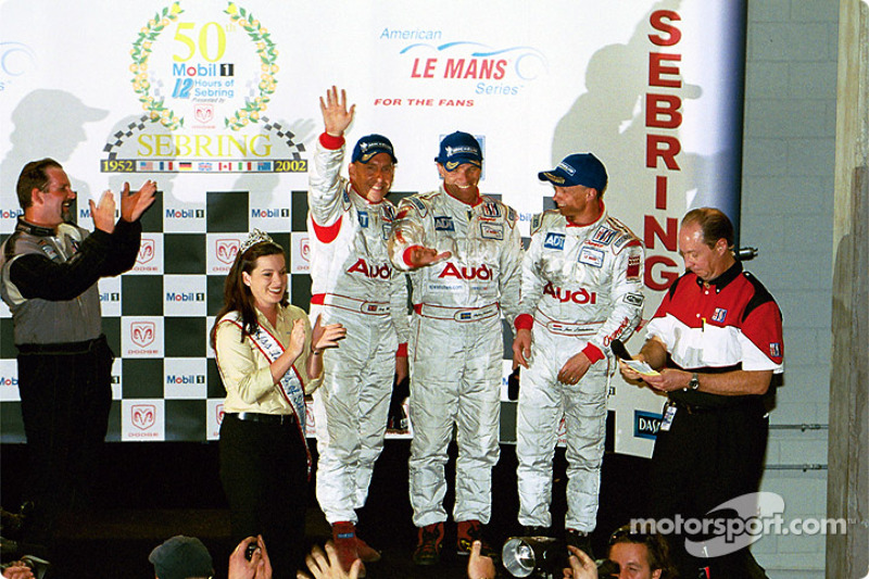 Deuxième place pour Andy Wallace, Stefan Johansson et Jan Lammers
