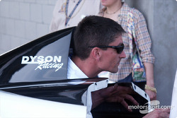 Dyson Racing crew member