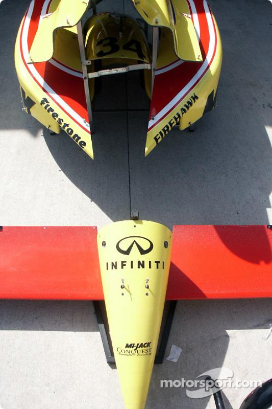 Conquest Racing bodywork