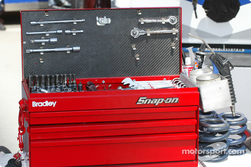 Boite à outils du Bradley Motorsports