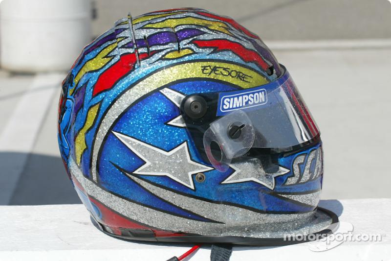 Jeret Schroeder's helmet