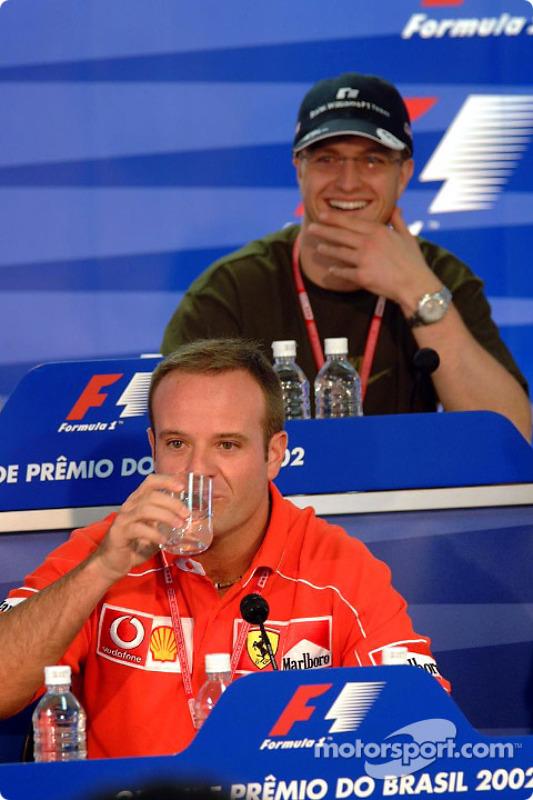 Thursday press conference: Rubens Barrichello and Ralf Schumacher