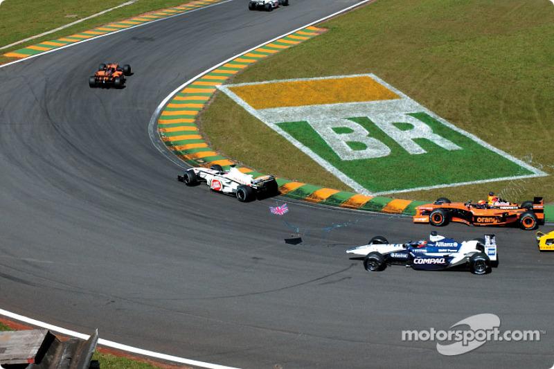 Tercera curva: Juan Pablo Montoya en problemas
