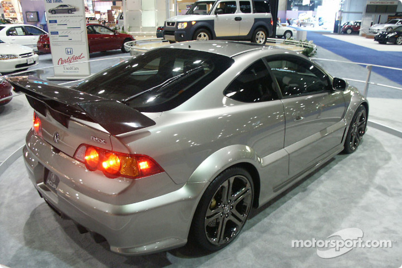 Acura RSX all dressed up