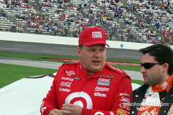 Jimmy Spencer et Tony Stewart
