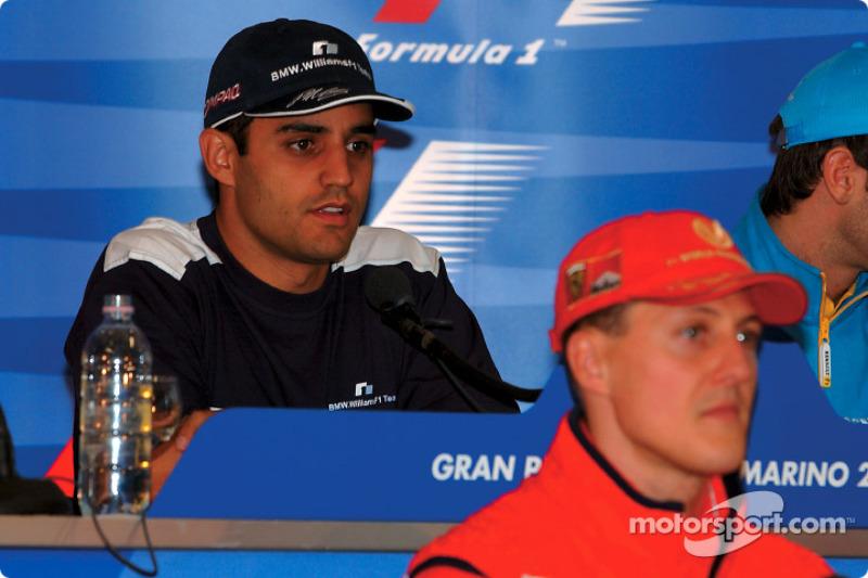 Conferencia de prensa del jueves: Juan Pablo Montoya y Michael Schumacher