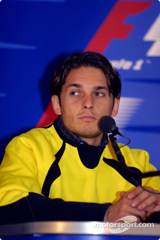 Conferencia de prensa del jueves: Giancarlo Fisichella