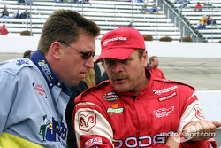 Discussing qualifying strategy