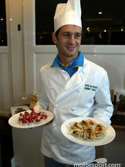 Chef Jarno Trulli