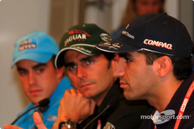 Conferencia de prensa del jueves: Fernando Alonso, Pedro de la Rosa y Marc Gene