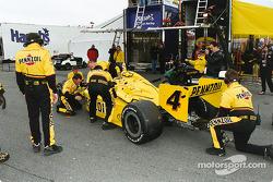 Race repairs for the return
