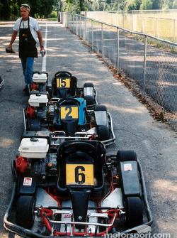 Prior to the race each endurance Kart was prepped to matching perforance specs