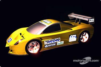 Daytona prototypes rendering