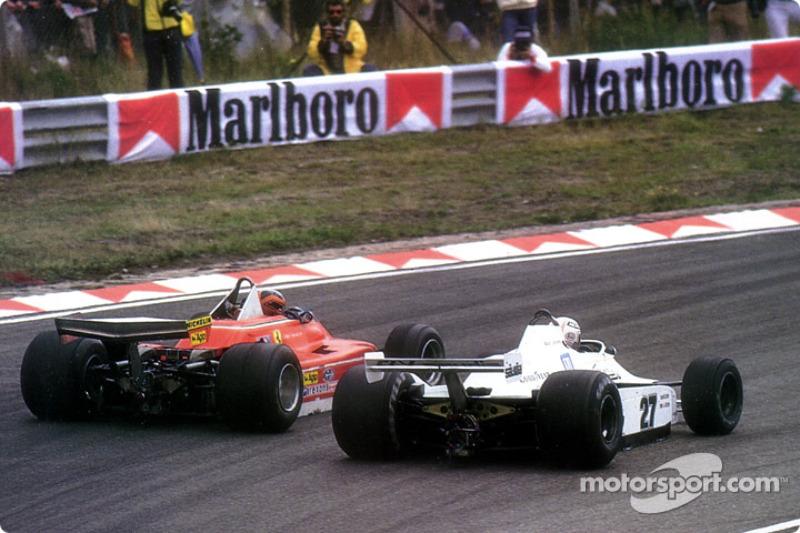 Dijeron que no se podía hacer: Gilles Villeneuve pasar a Alan Jones desde el exterior del Tarzan espectacular curva en Zandvoort