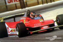 Gilles Villeneuve im Drift