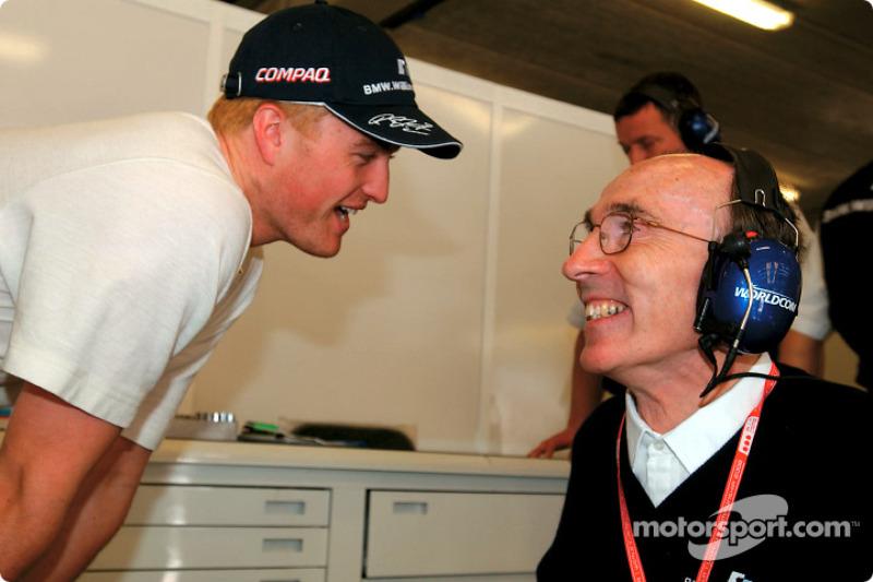 Ralf Schumacher et Frank Williams