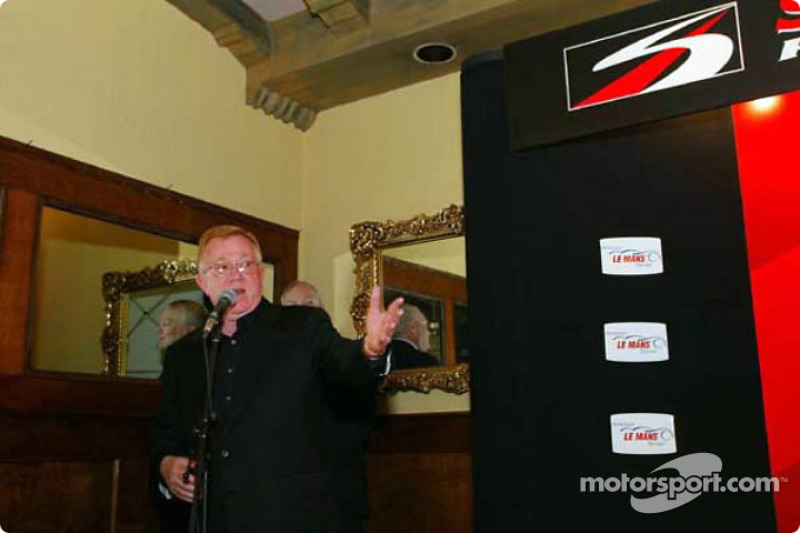 Press conference: Don Panoz