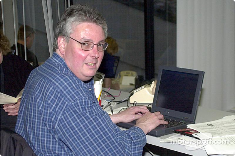 Motorsport.com journalist Jim Donnelly