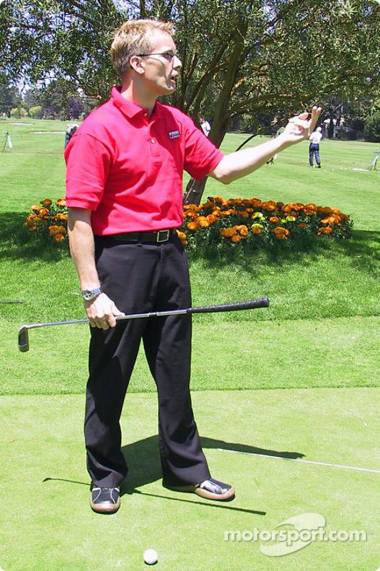 Golf tournament: Kenny Brack