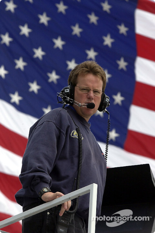 Mike Beam, jefe de equipo del Tide Ford Taurus