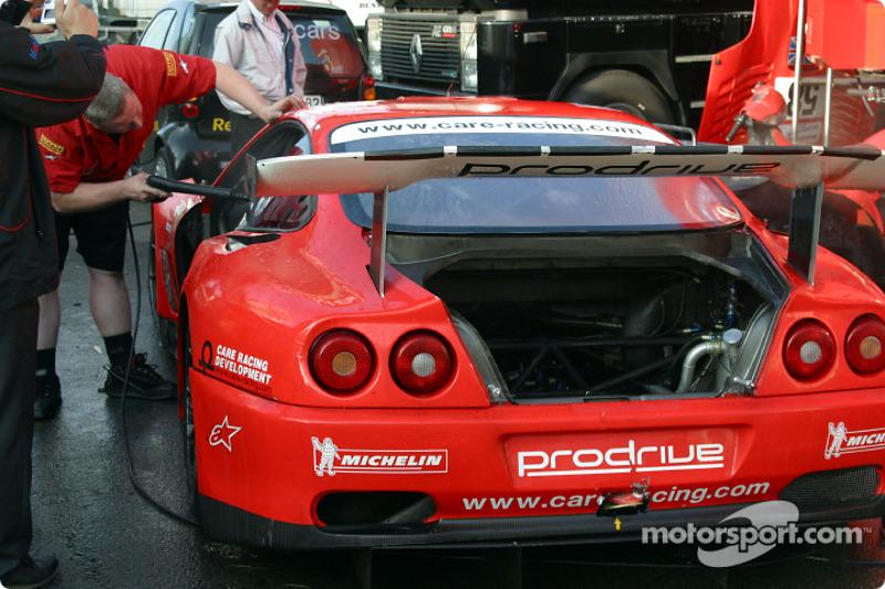 Una víctima de la larga noche en Le Mans