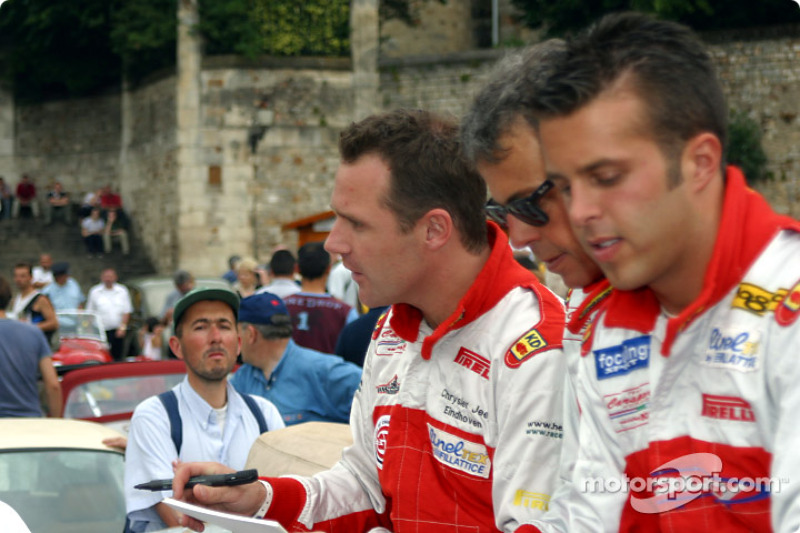 Anthony Kumpen, Mike Hezemans y Gabriele Matteuzzi